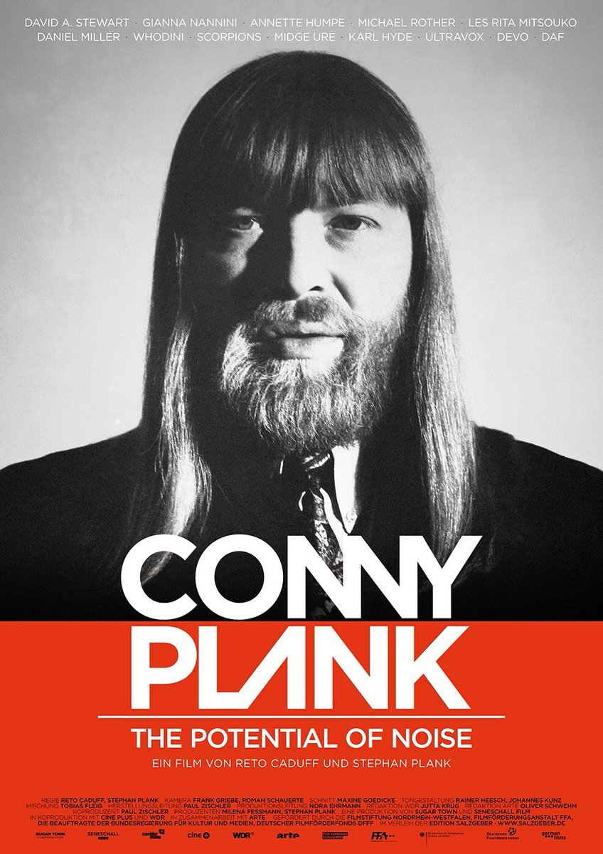 Poster ADE Special: Conny Plank: The Potential Of Noise