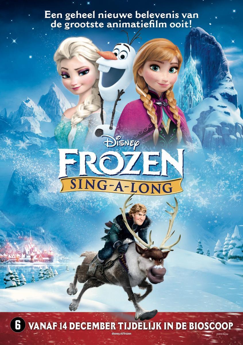 Poster Frozen Sing-Along (NL)