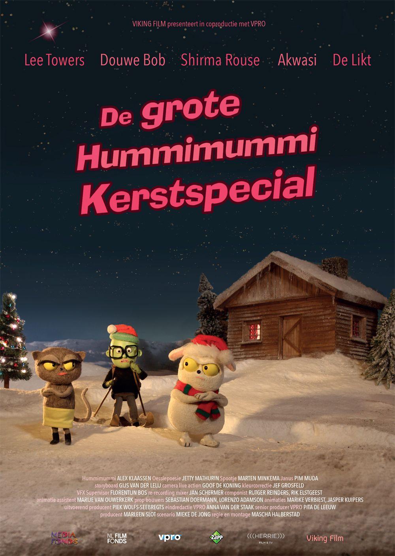 Poster De Grote Hummimummi Kerstspecial