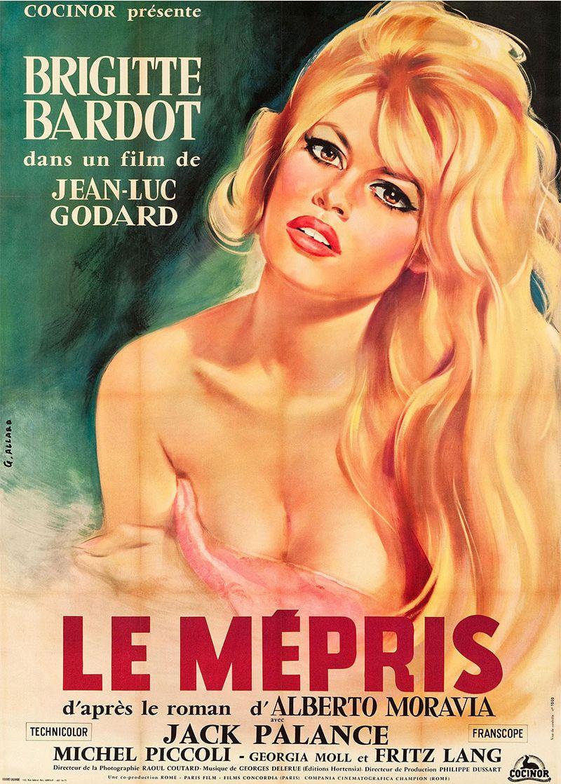 Poster Le Mépris