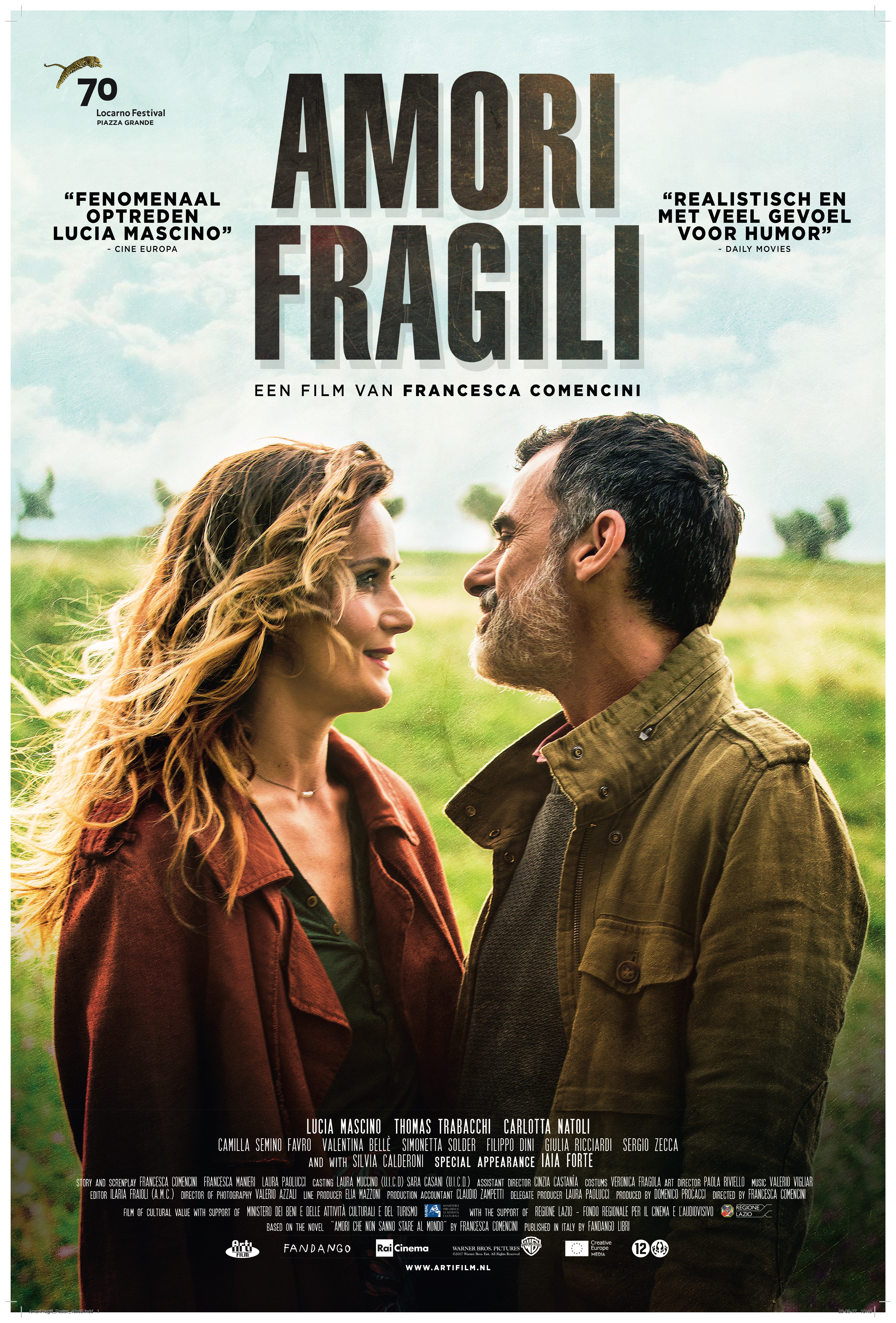 Poster Amori Fragili