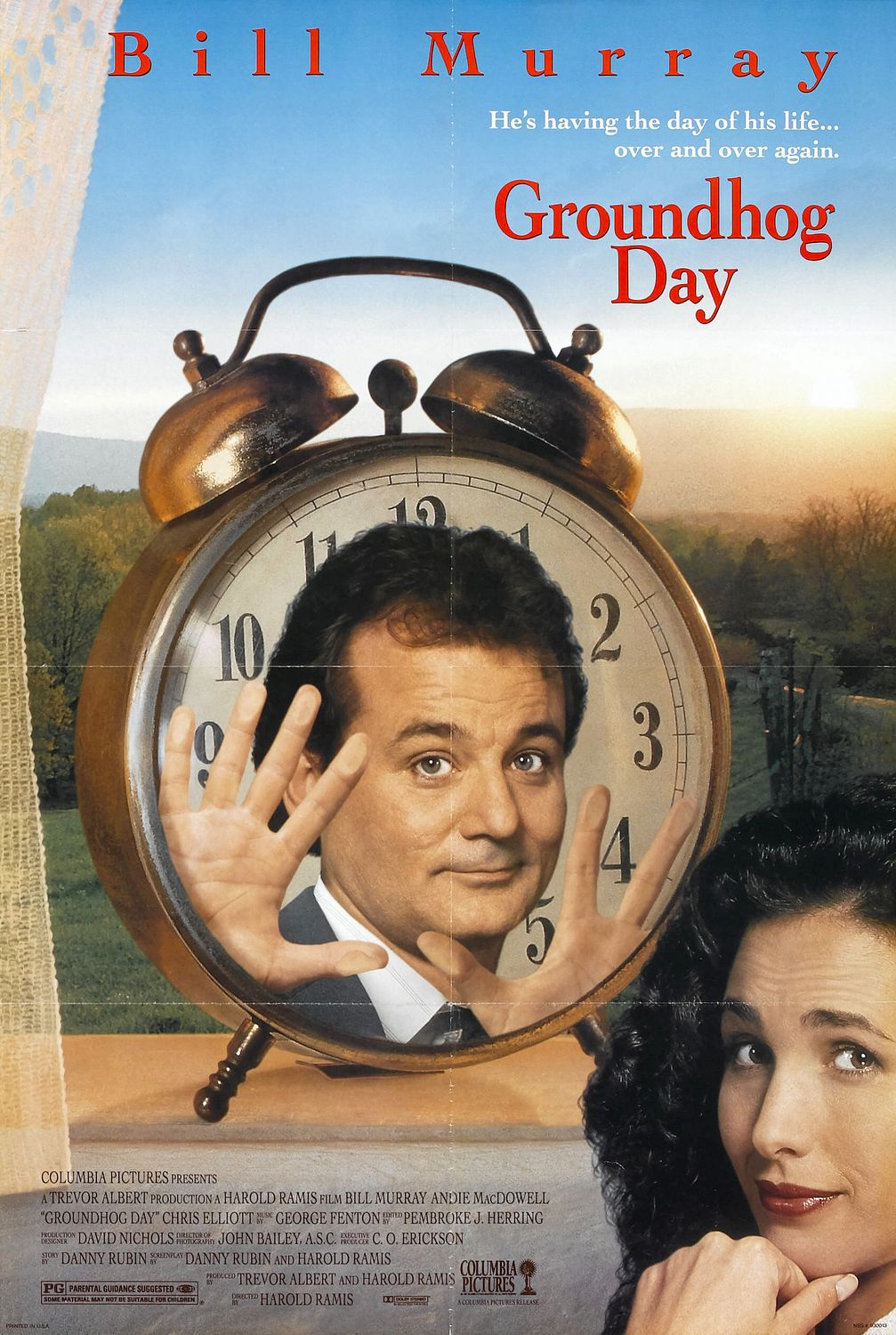 Poster Groundhog Day