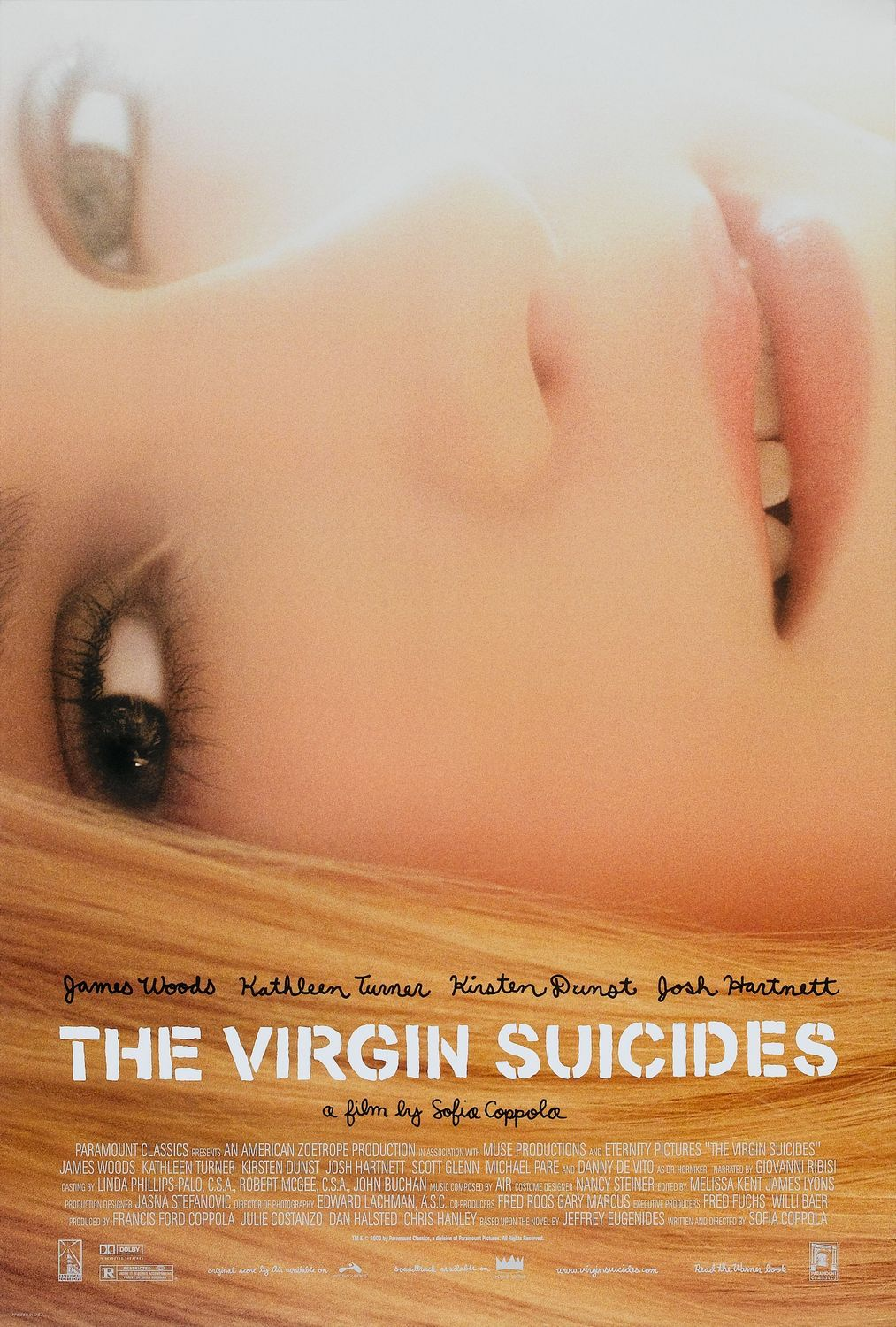 Poster The Virgin Suicides