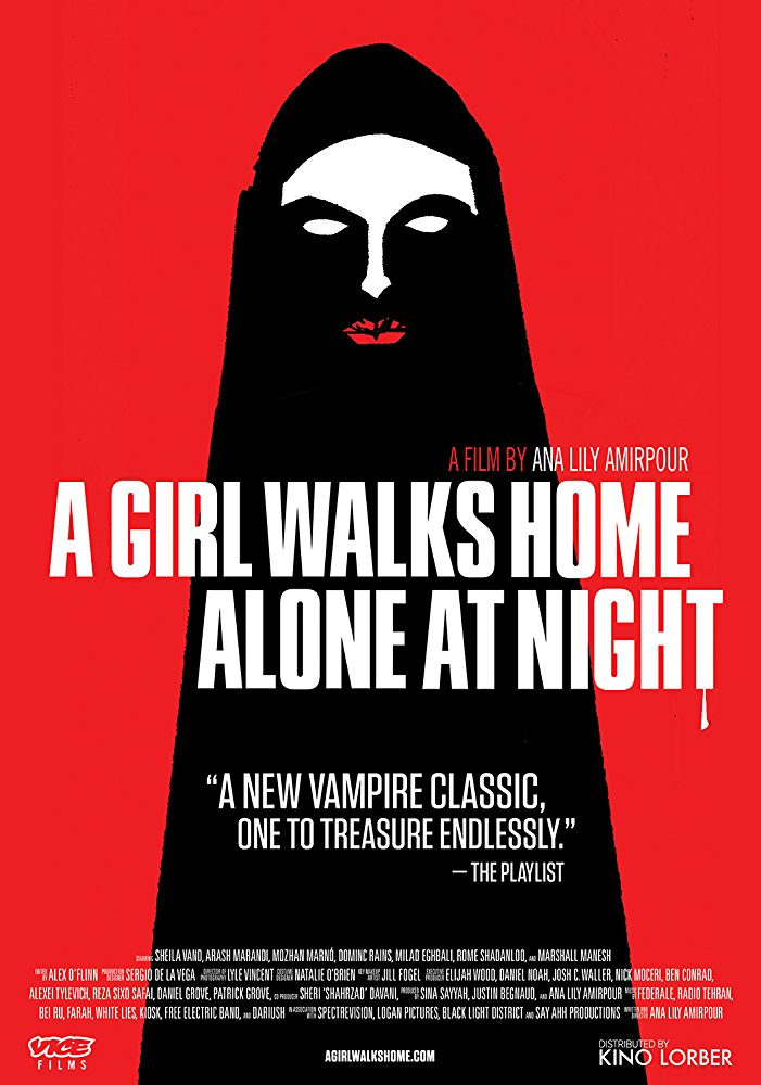 Poster A Girl Walks Home Alone At Night