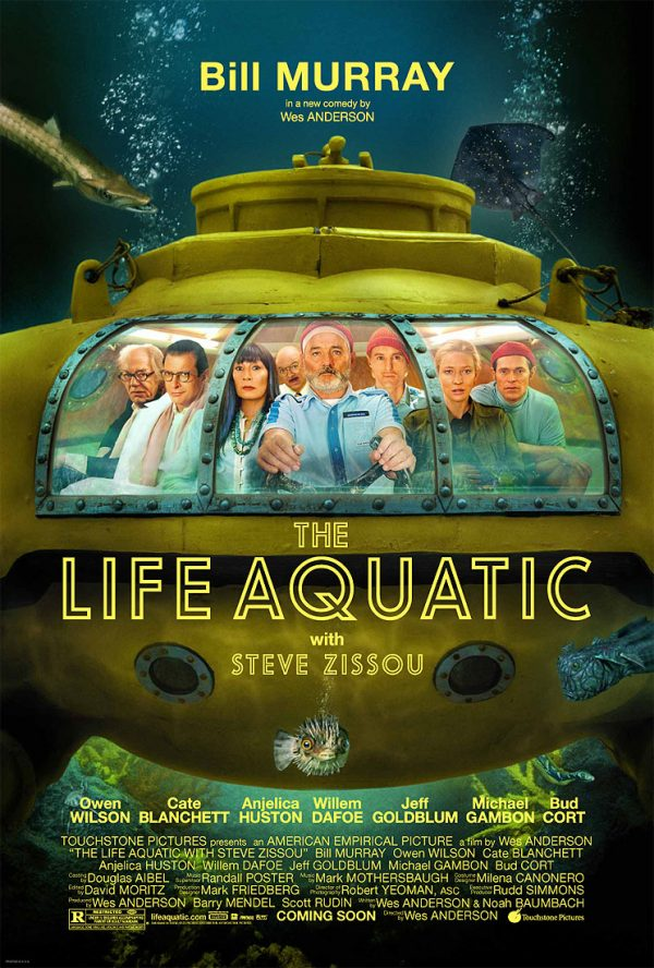 Poster The Life Aquatic with Steve Zissou