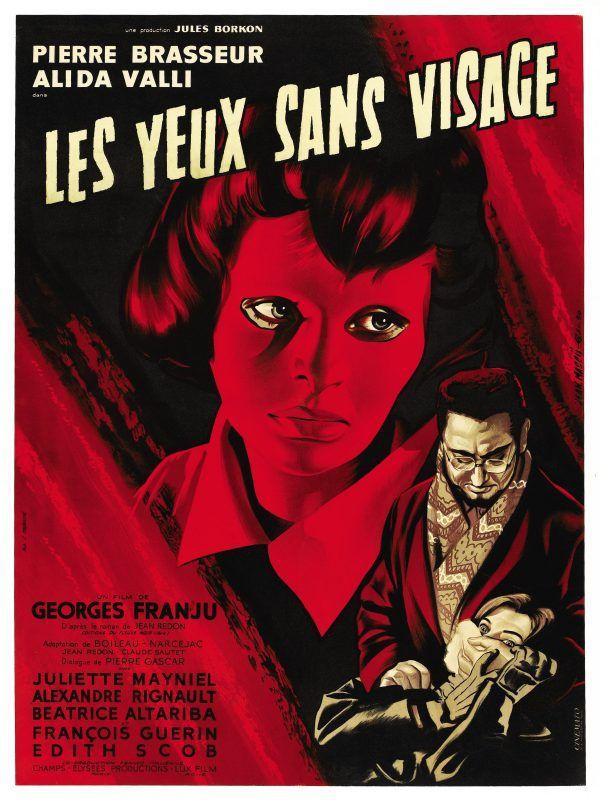 Poster Les Yeux Sans Visage