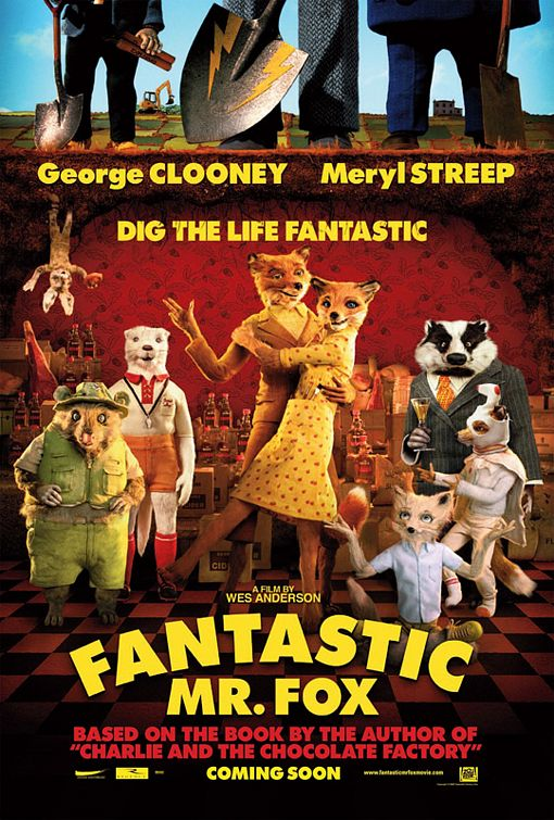 Poster Fantastic Mr. Fox