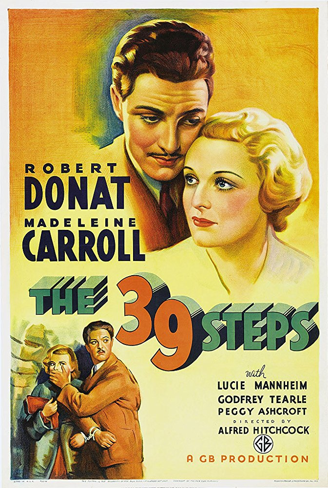 Poster The 39 Steps