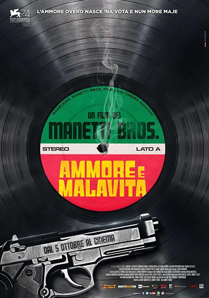 Poster Ammore E Malavita
