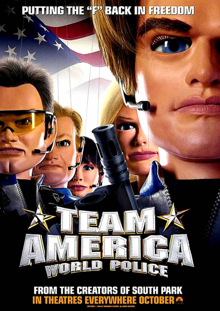 Poster Team America: World Police