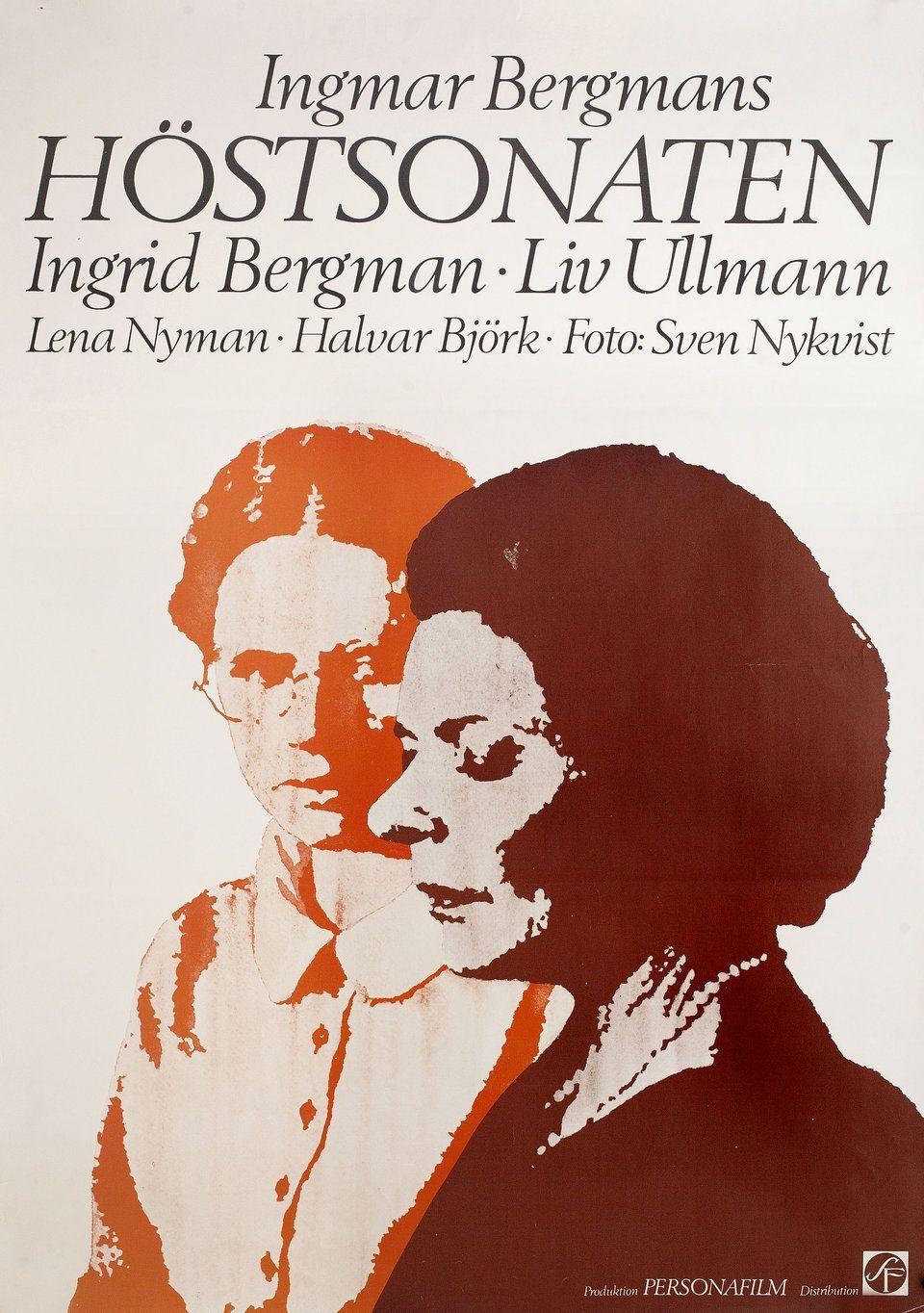 Poster Autumn Sonata