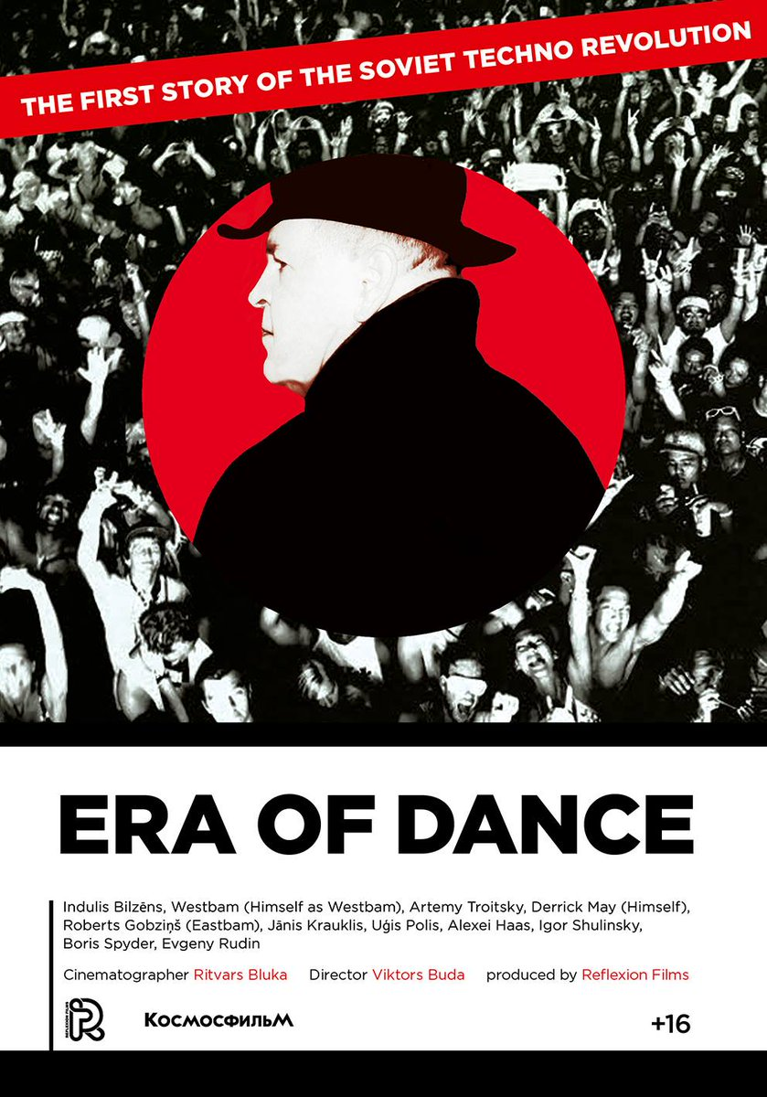 Poster Era Of Dance: The Story Of Soviet Techno Revolution