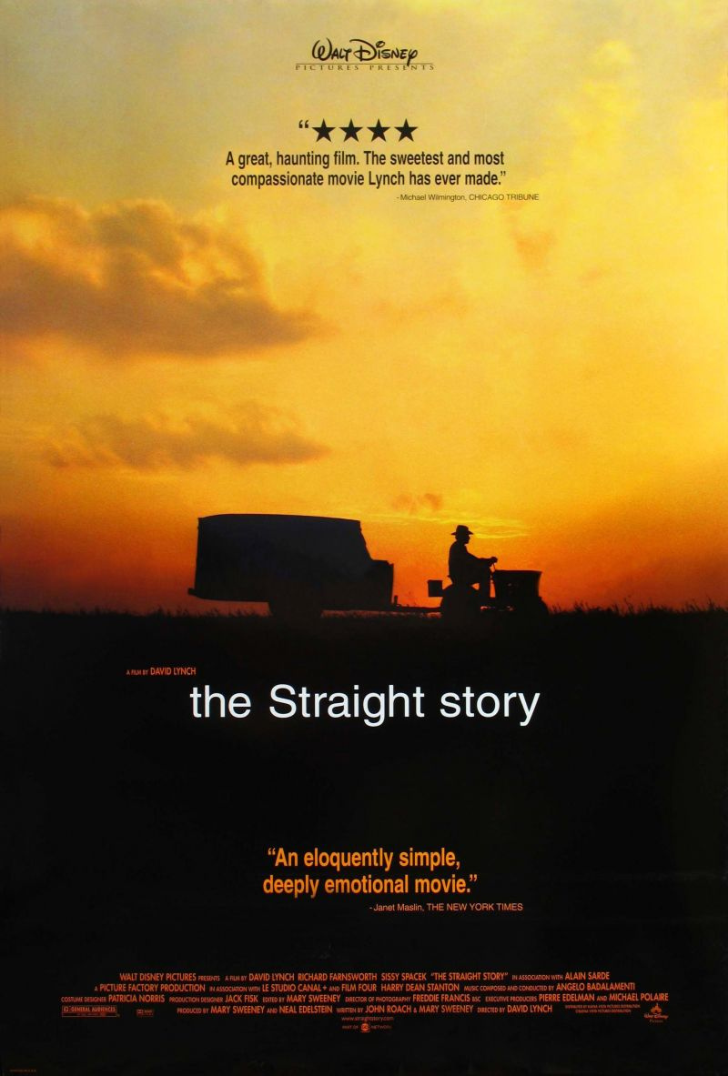 Poster The Straight Story