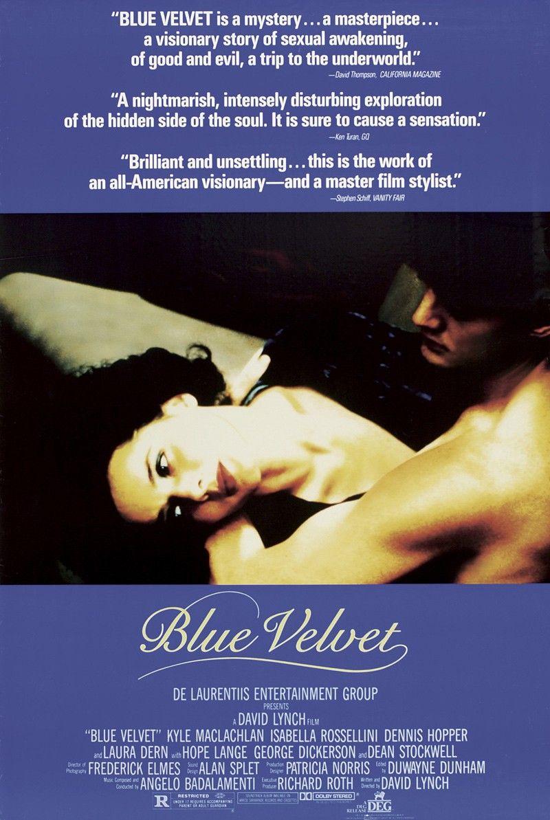 Poster Blue Velvet