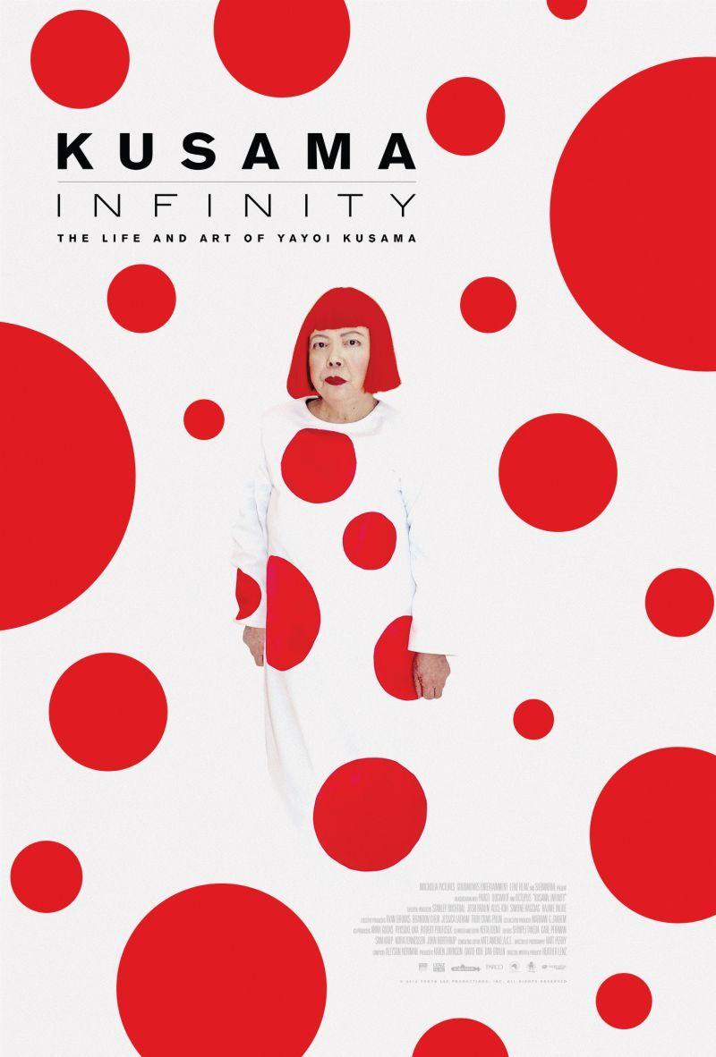 Poster Kusama: Infinity