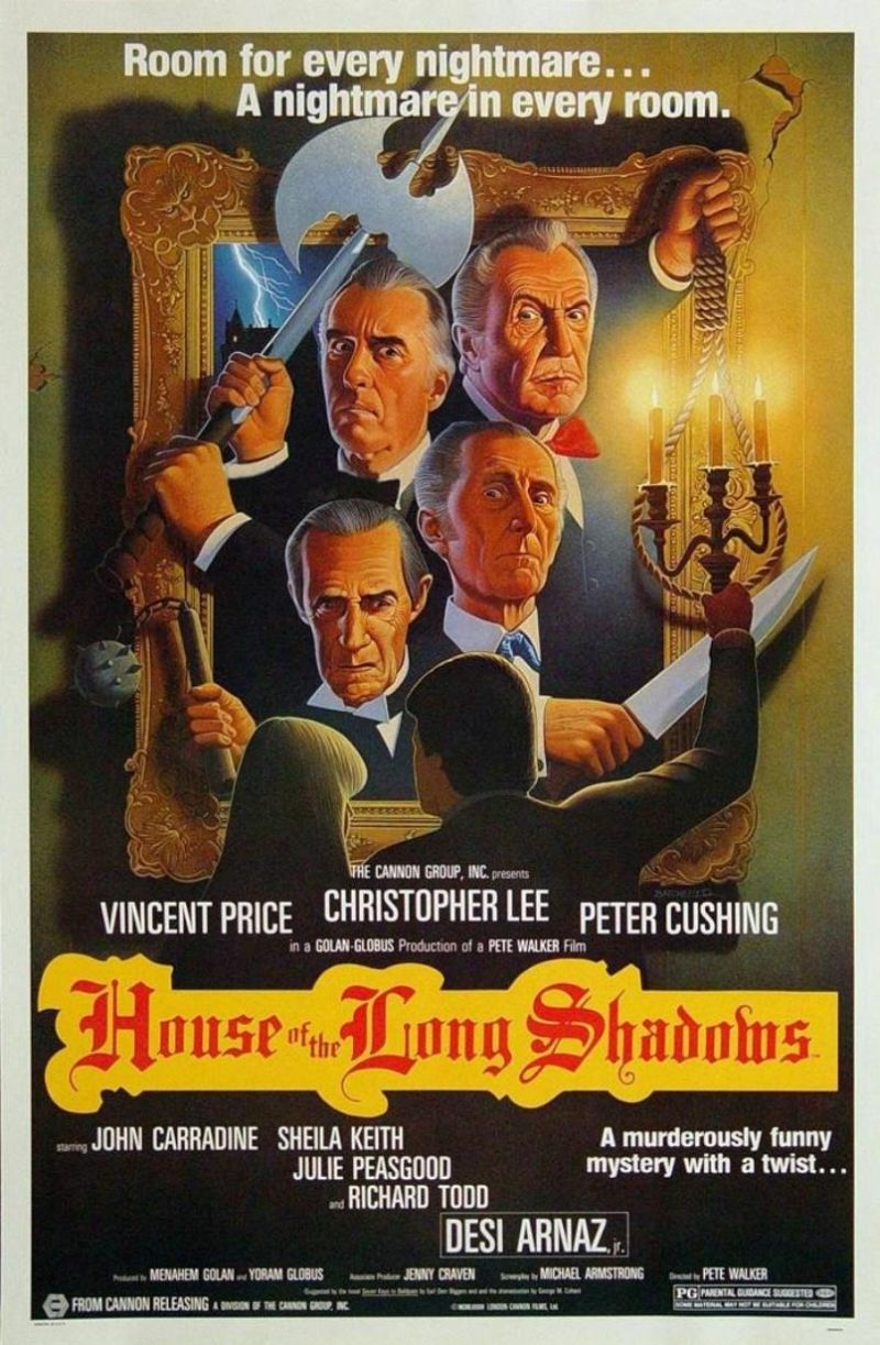 Poster Vincent Price Birthday Bash! (House Of The Long Shadows)