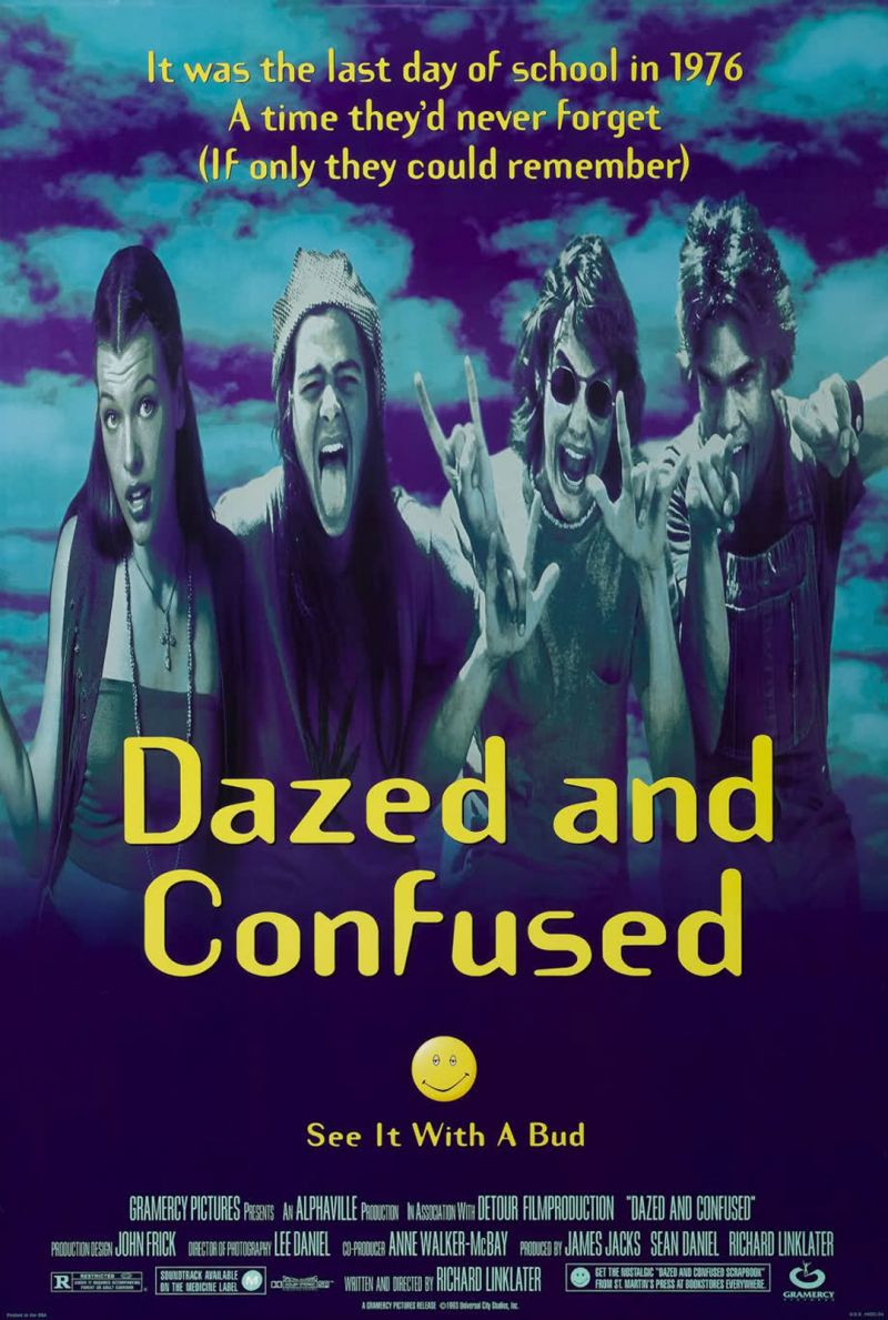 Poster Dazed And Confused