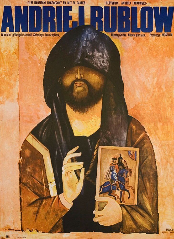 Poster Andrei Rublev