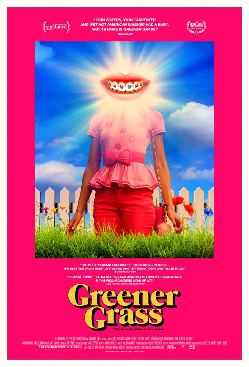 Poster Chasing Reels: Greener Grass