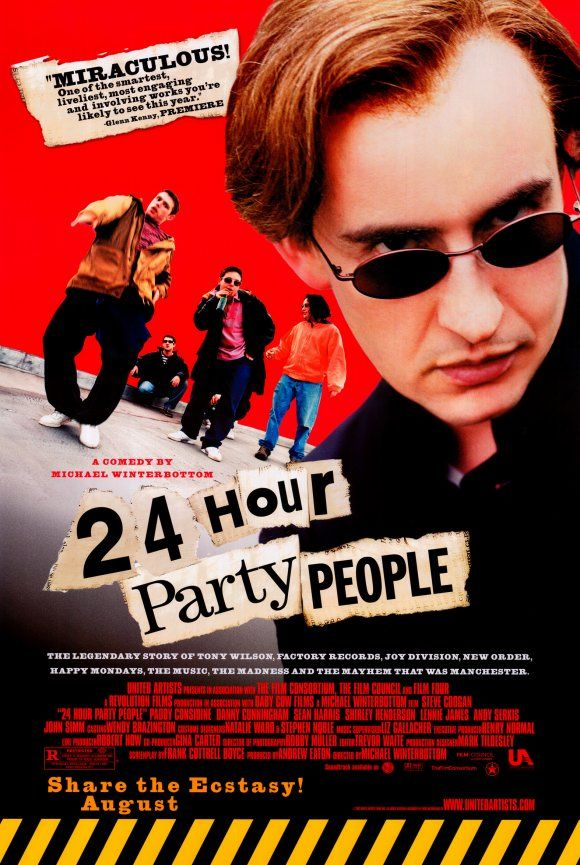 Poster 24 Hour Party People