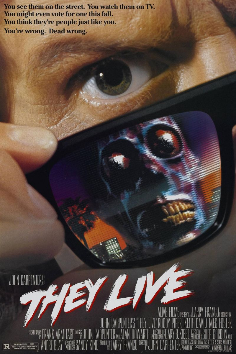 Poster They Live