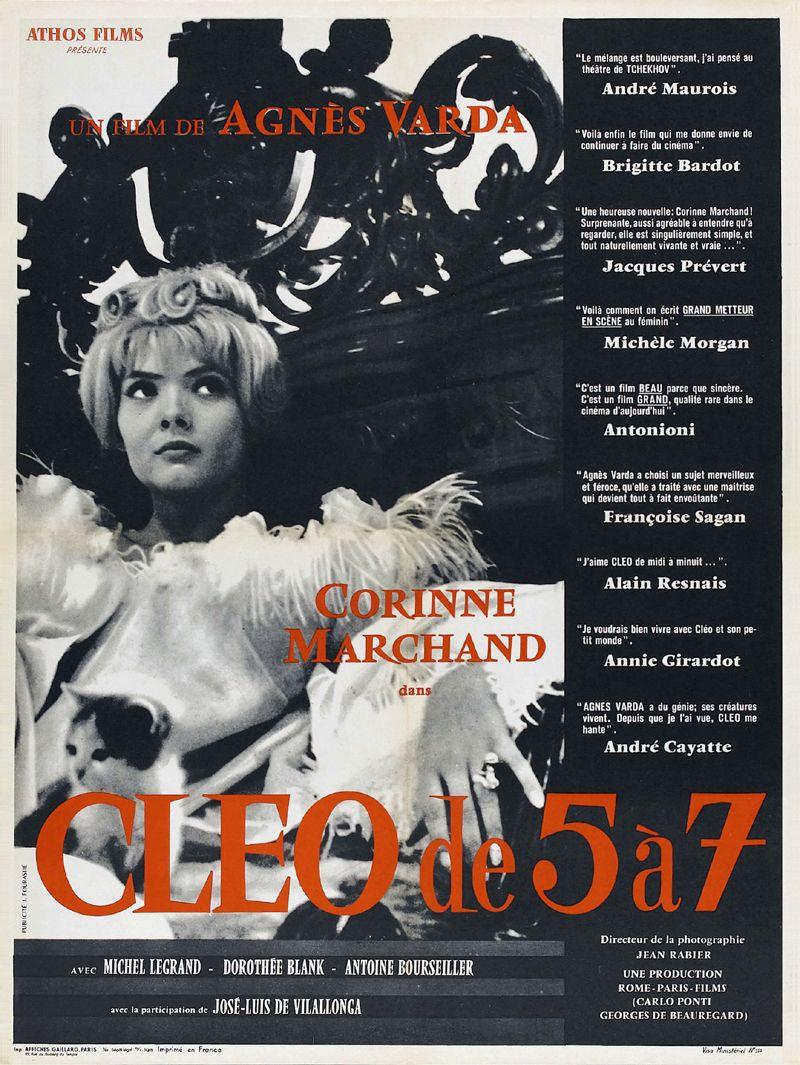 Poster Cléo de 5 à 7