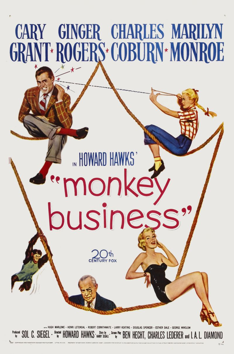 Poster Monkey Business