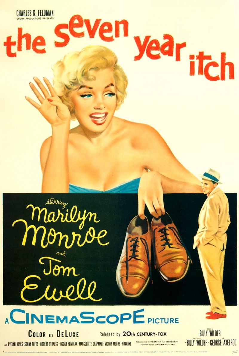 Poster The Seven Year Itch