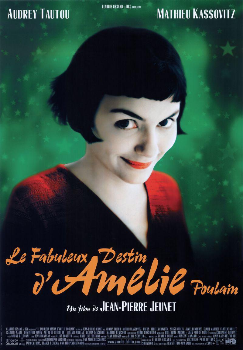 Poster Le Fabuleux Destin d'Amélie Poulain (Cinetol)
