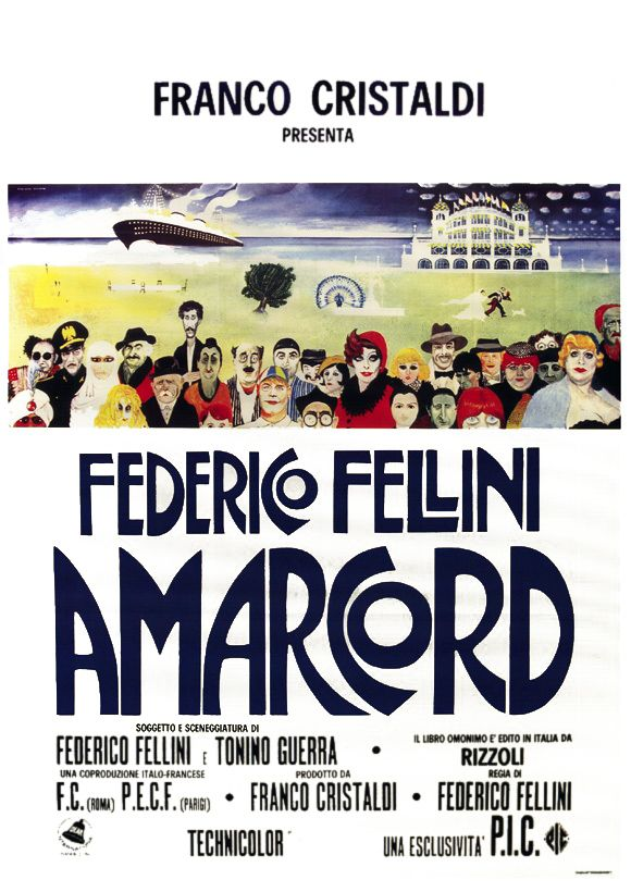 Poster Amarcord (Cinetol)