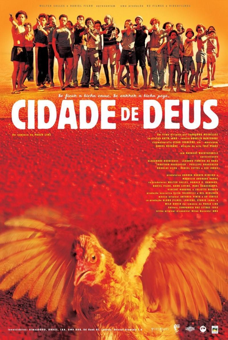 Poster Cidade De Deus (Cinetol)