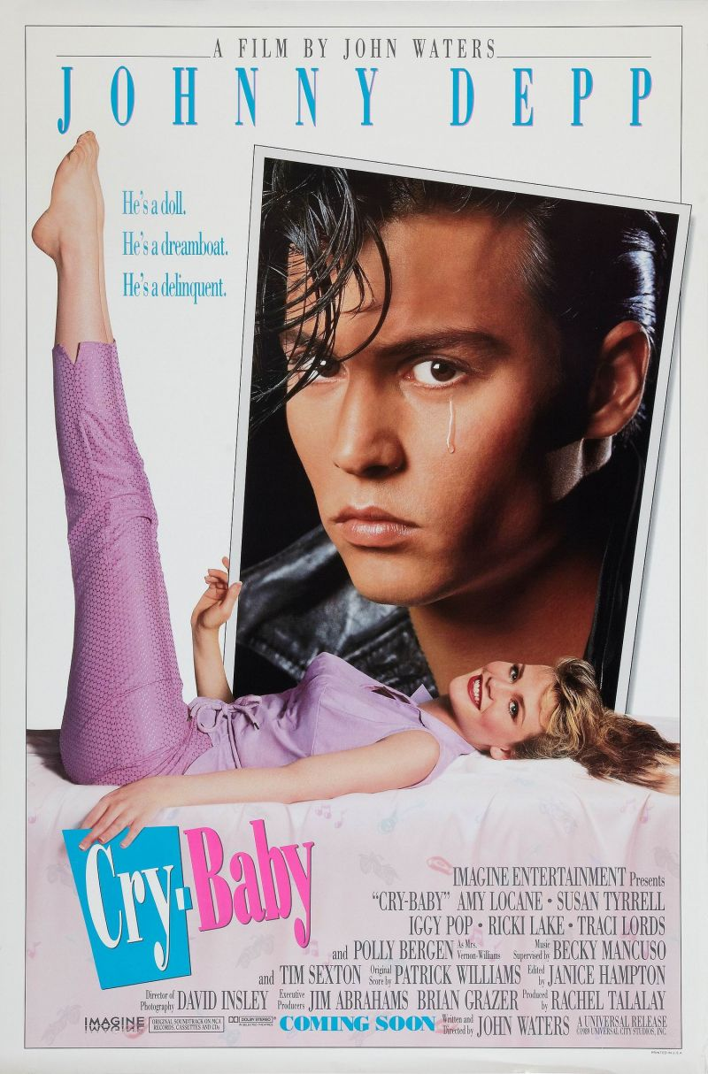 Poster Cry-Baby