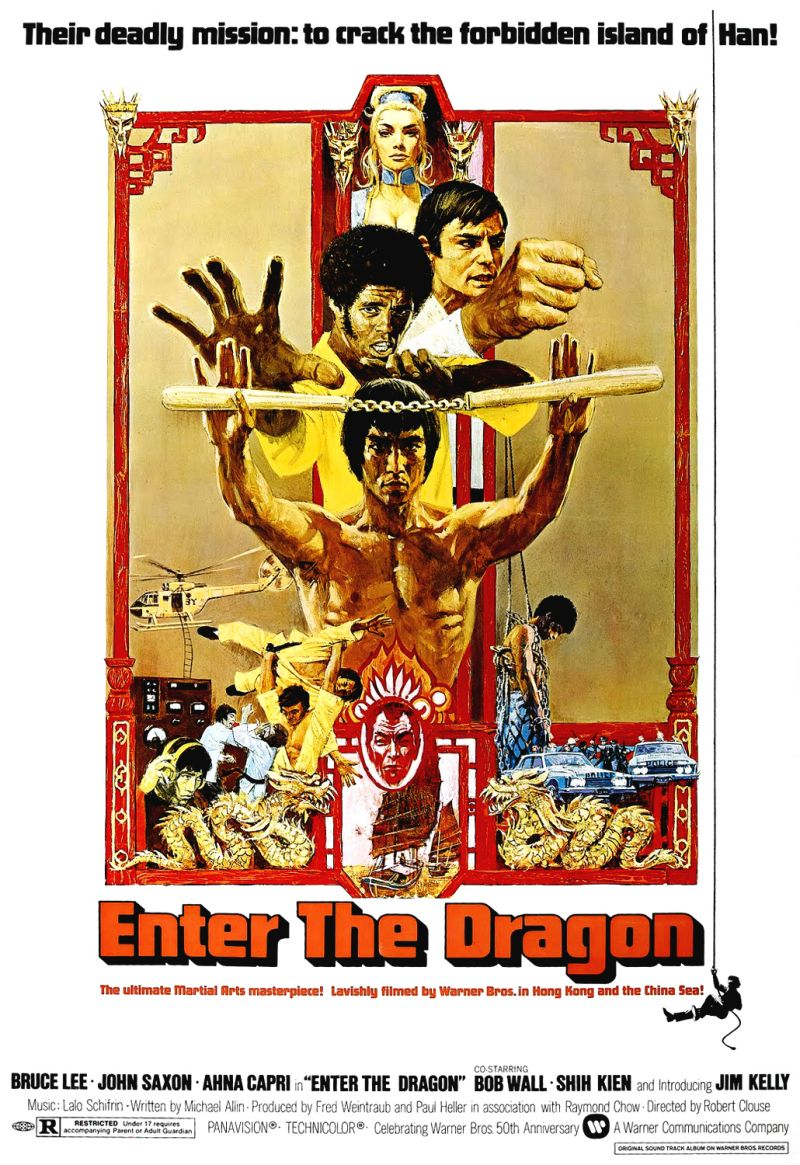 Poster Enter The Dragon