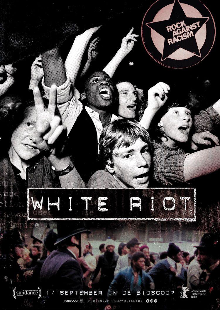 Poster White Riot