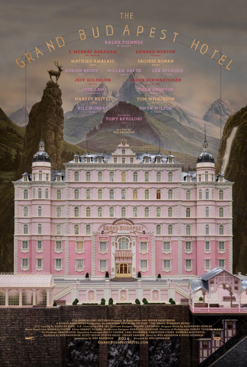 Poster The Grand Budapest Hotel
