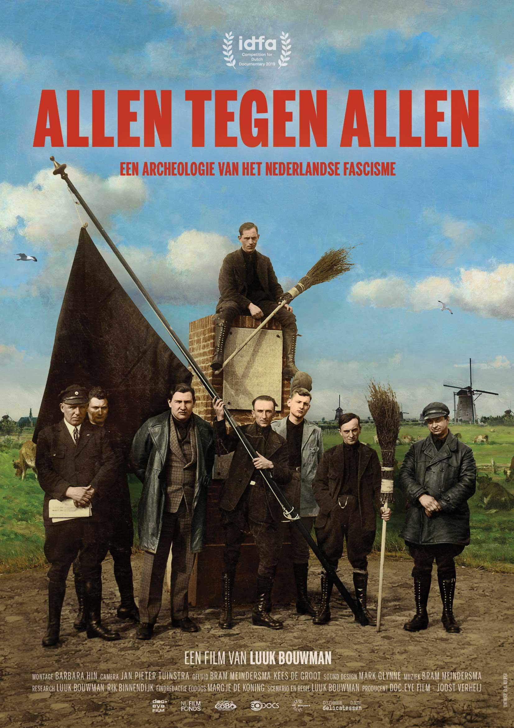 Poster We Are Public: Allen Tegen Allen met Luuk Bouwman