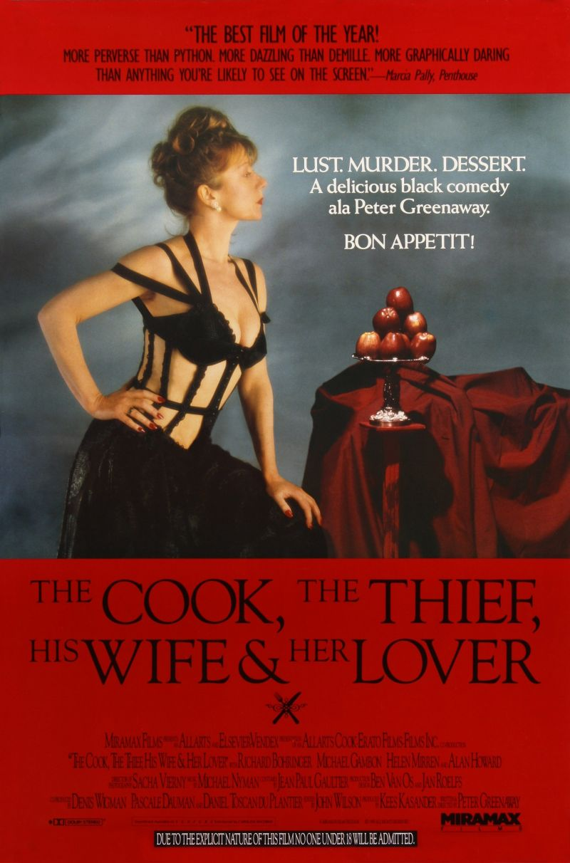 The Cook, The Thief, His Wife & Her Lover