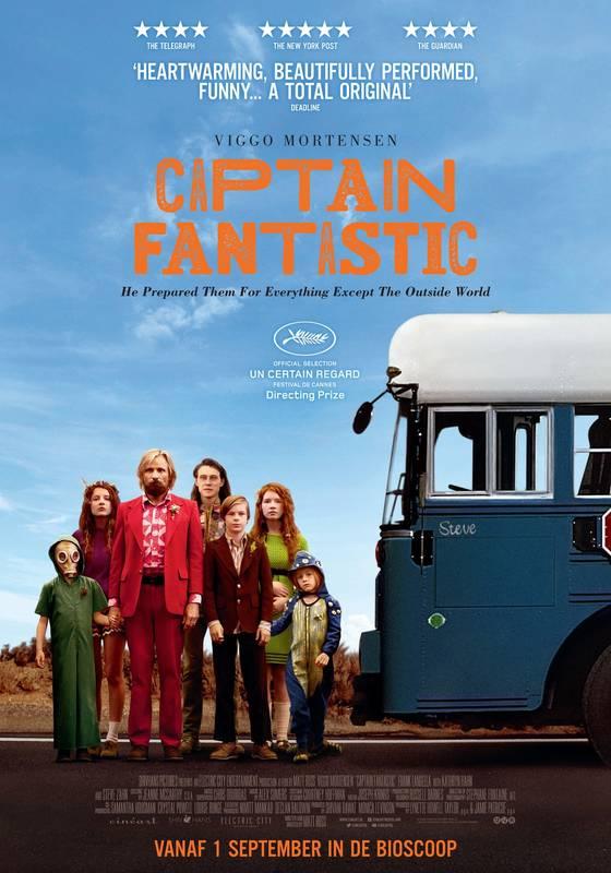 Poster Captain Fantastic