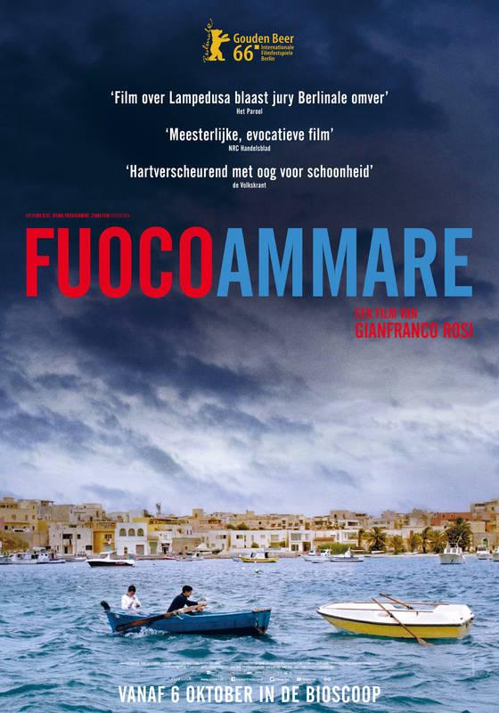 Poster Fuocoammare