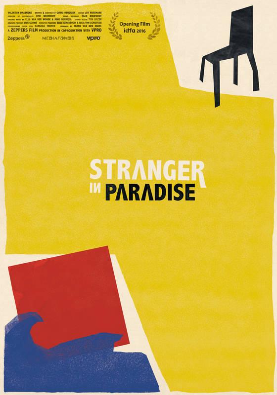 Poster Stranger in Paradise