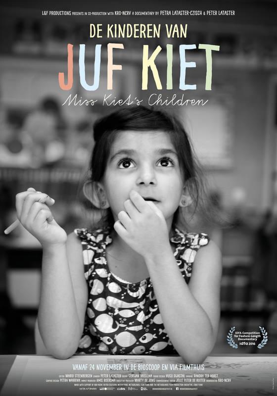 Poster Juf Kiet en haar kinderen
