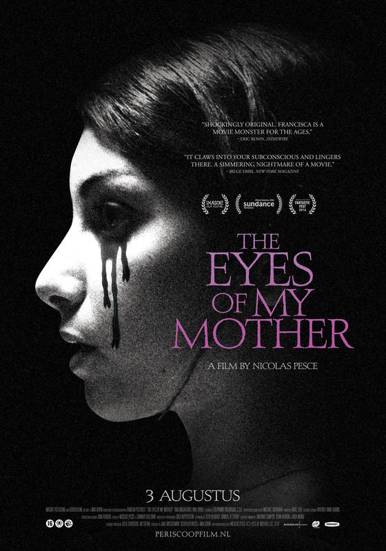 Poster The eyes of my mother