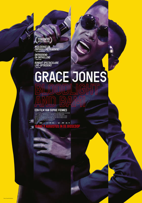 Poster Grace Jones: Bloodlight and Bami
