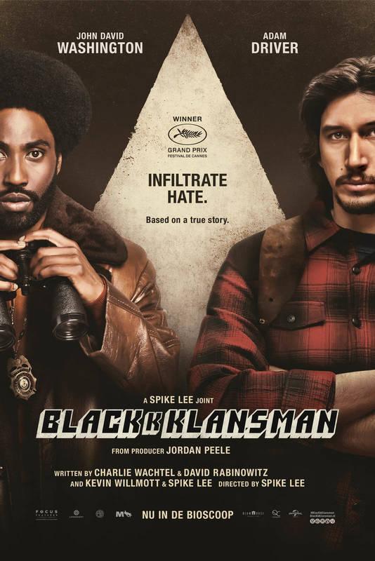 Poster BlacKkKlansman