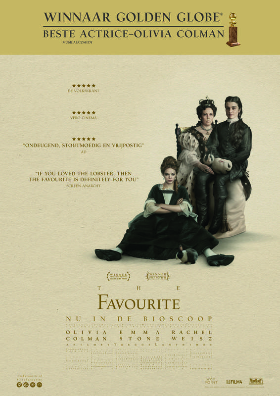 Poster The Favourite