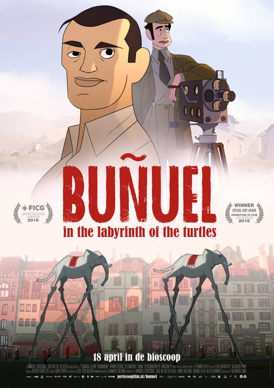 Poster Buñuel In The Labyrinth Of The Turtles