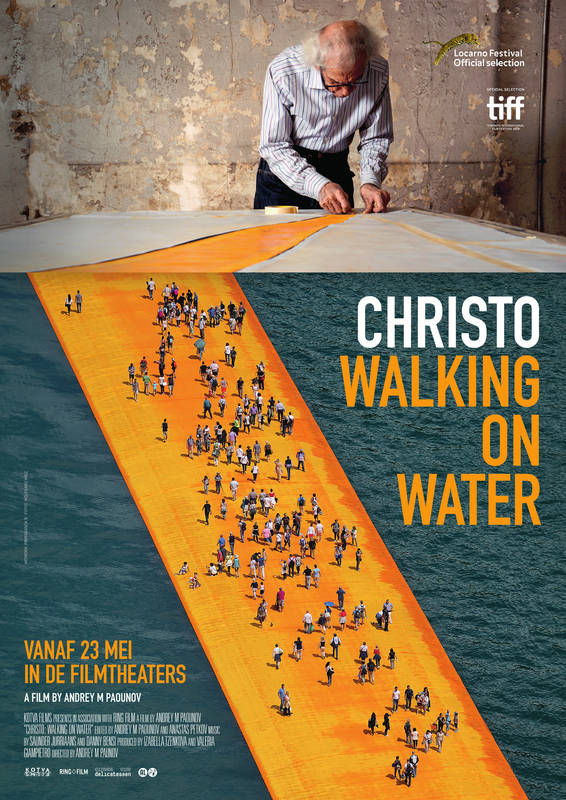 Poster Christo: Walking On Water