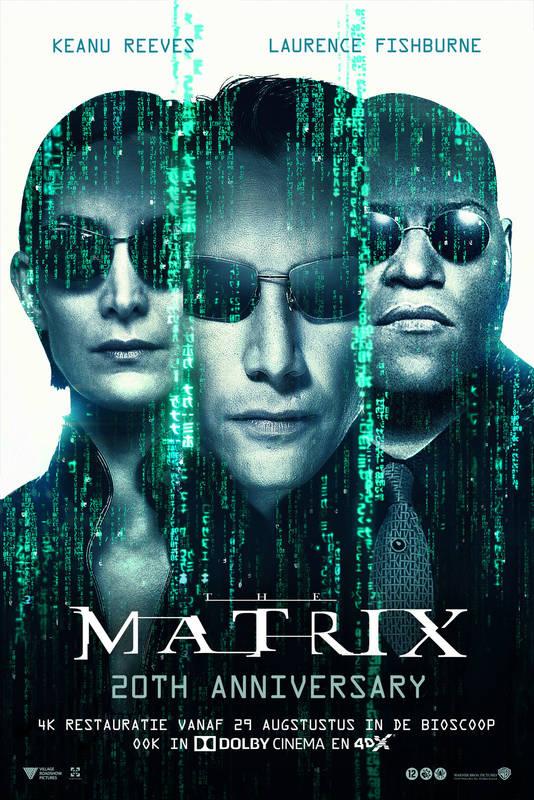 Poster The Matrix (20th Anniversary)