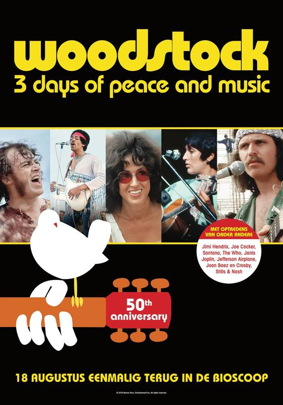 Poster Woodstock (50th Anniversary)