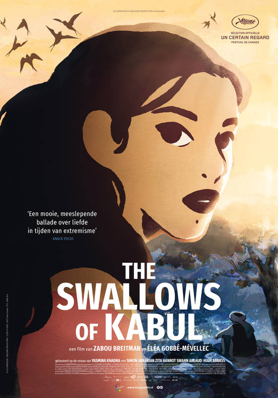 Poster The Swallows Of Kabul